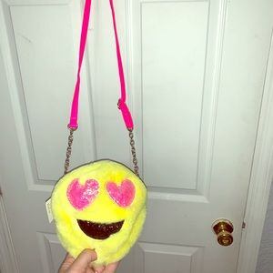 NWT Girl's emoji purse